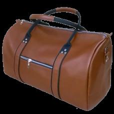 Дорожная сумка кожаная Schultiz (коричневая)