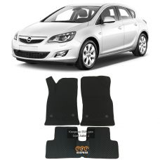 Коврики EVA для Opel Astra J (2009-2017)
