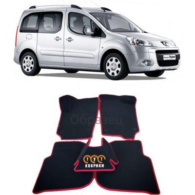 Коврики EVA для Peugeot Partner II (2008-н.в.)