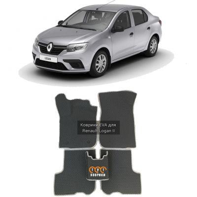 Коврики EVA для Renault Logan II (2014-н.в.)