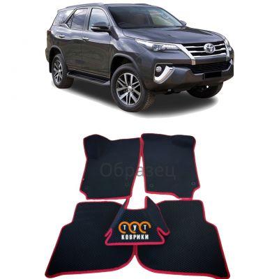 Коврики EVA для Toyota Fortuner II (2015-н.в.)
