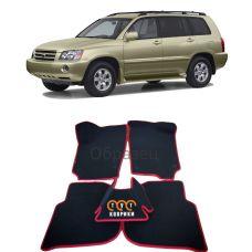 Коврики EVA для Toyota Highlander I (2001-2007)