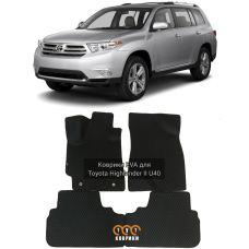 Коврики EVA для Toyota Highlander II (2007-2013)