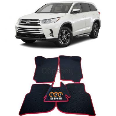 Коврики EVA для Toyota Highlander III (2013-2019)