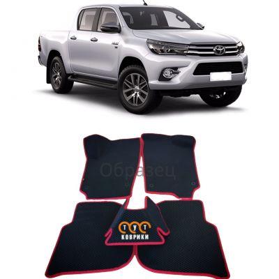 Коврики EVA для Toyota Hilux VIII (2015-н.в.)