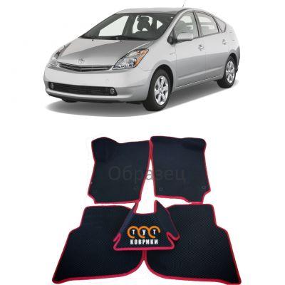 Коврики EVA для Toyota Prius II (XW20) (2003-2011).)