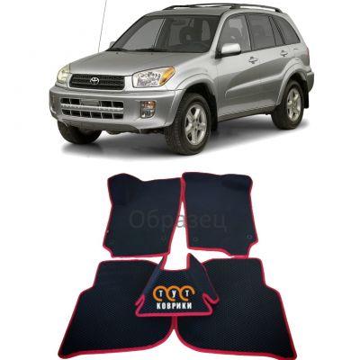 Коврики EVA для Toyota RAV4 (2000-2006) 5 дверей