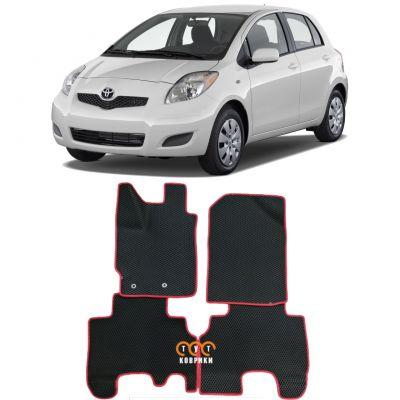 Коврики EVA для Toyota Yaris II (2005-2012)