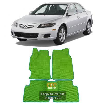 Коврики EVA для Mazda 6 GG (2002-2008)