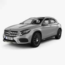 Коврики EVA для Mercedes-Benz GLA X156 (2013-н.в.)