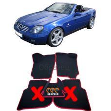 Коврики EVA для Mercedes-Benz SLK-Класс R170 (1996-2004)