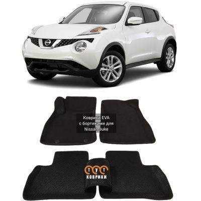 Коврики EVA для Nissan Juke Правый руль (2011-н.в.)