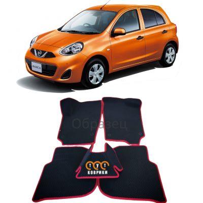 Коврики EVA для Nissan March K13 (2010-н.в.)
