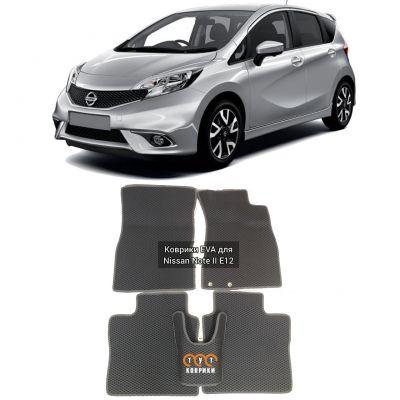 Коврики EVA для Nissan Note E12 правый руль (2012-н.в.)
