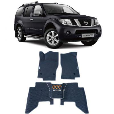 Коврики EVA для Nissan Pathfinder R51 (2004-2014) 7 мест