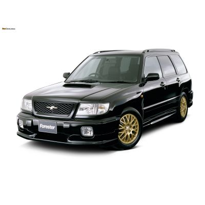 Коврики EVA для Subaru FORESTER SF (1997-2002) левыйруль