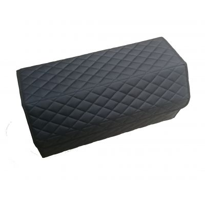 Саквояж (кофр) для багажника авто из экокожи 30х30х70 см