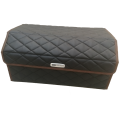 Сумка органайзер (саквояж) для багажника авто с липучкой сзади 30х30х90 см