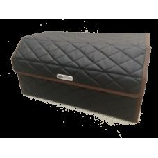 Сумка органайзер (саквояж) для багажника авто с липучкой сзади 25х25х50 см