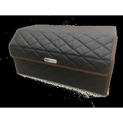 Органайзер саквояж (кофр) для багажника авто из экокожи 30х30х90 см